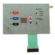 Pillow down embossed membrane switch from China (mainland)