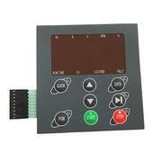 Embossing membrane switch