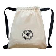 Cotton drawstring bag from China (mainland)