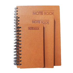 Spiral notebook, customized color and size are accepted from Beijing Leter Stationery Manufacturing Co.Ltd