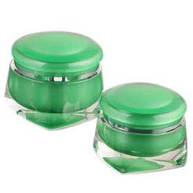 Cosmetic Round Acrylic Jars from China (mainland)