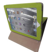 Leather Case for iPad, Customized Designs are Accepted from Beijing Leter Stationery Manufacturing Co.Ltd
