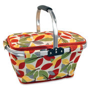 Insulated foldable picnic basket from China (mainland)