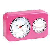 Novelty square shaped timer desk clock Manufacturer