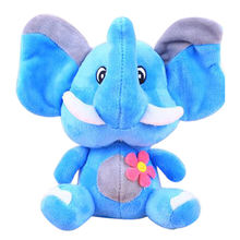 Rainbow elephant plush toys, customized accepted