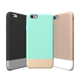 Hybrid liquid silicone rubber case for iPhone 6 from China (mainland)