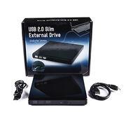 ECD009-US Universal Laptop External Drive USB2.0 External Hard Drive Case/Enclosure/Box for SATA/IDE