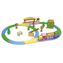 Kids' wooden train track Manufacturer
