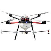 F4 precision ag drones uav crop sprayer helicopter agricultural spraying 5.8G data transmission