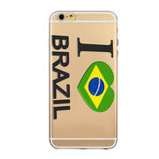 Brazil's Olympic phone case custom color from China (mainland)