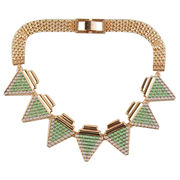 Trendy Women's Metal Alloy Necklaces in high fashion, customized designs are available