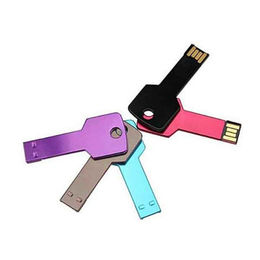 Promotional Key-shaped USB Flash Drive, Customized Logos are Accepted from Memorising Tech Limited