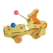 Wooden children's pull toys from China (mainland)