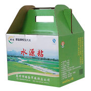 Bulk sale corrugated paper wine cardboard gift from China (mainland)