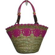 Fashionable straw bag/beach bags from China (mainland)