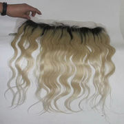 100% Human Hair Lace Frontal Closure13*4 have stoc from China (mainland)
