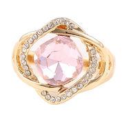 Pink crystal glass diamond wedding napkin rings, pink napkin rings decorative wedding from HK Yida Accessories Co. Ltd