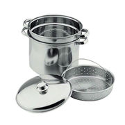 Multi-deck steam cooker from India