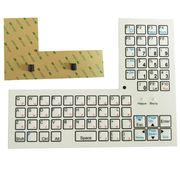 Custom-made membrane keyboard from China (mainland)