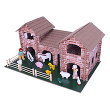 Wooden animal farm toys from China (mainland)