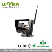 7-inch Wireless Car LCD Monitor from China (mainland)