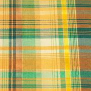 Polyester yellow and green stripes check fabric from China (mainland)
