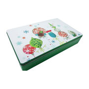 Cookies promotion food metal box from China (mainland)