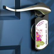 Promotional Door Hanger from India