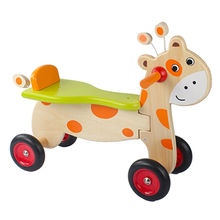 2016 best sale lovely wooden baby tricycle W16A024