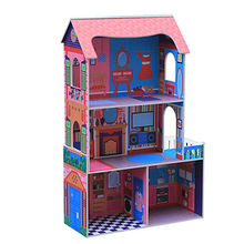 2016 newest baby wooden toy doll house, W06A142