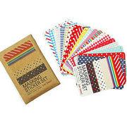 Washi paper sticker from China (mainland)