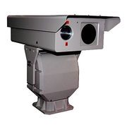 Thermal Laser PTZ Camera with Surge Protection and 750TVL Color Image Resolution