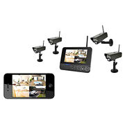 4CH Out-door Security camera CCTV kits NVR from China (mainland)