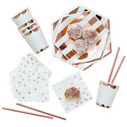 Best Selling Rose Gold Tableware Sets for Party
