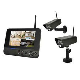 China 2CH Outdoor Security camera CCTV kits DVR/NVR Wifi