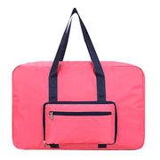 China Women Girl Foldable Weekend Travel Duffel Bag Luggage Bag