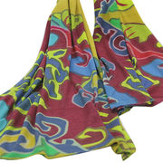 Cashmere worsted digital printed scarves from Inner Mongolia Shandan Cashmere Products Co.Ltd