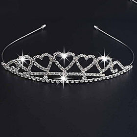 China New Arrival Wedding Crown Shaped