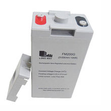 FM200 lead acid battery solar energy with high rate output