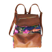 China Flower Printed Backpack