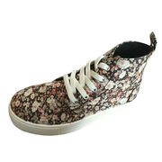 Customized women's casual canvas lace-up shoes from China (mainland)