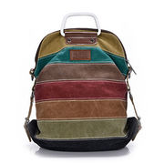Rainbow backpack, high quality nylon and hard handle famous design custom welcomed from Iris Fashion Accessories Co.Ltd