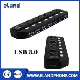 China USB 3.0 HUB 4 PORTS USB 2.0 HUB+ 3 PORTS USB 3.0 HUB