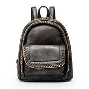 Hong Kong SAR PU leather backpack