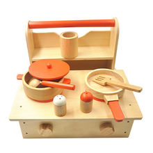 Wooden cooking toy Manufacturer
