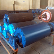 Wholesale Rubber coated conveyor head pulley, Rubber coated conveyor head pulley Wholesalers