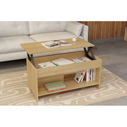 Folding adjustable height coffee table from China (mainland)