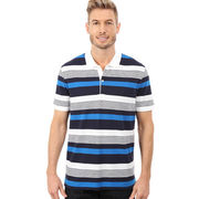 Short-sleeved stripe golf polo shirt from China (mainland)