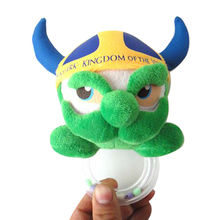 Monster plush hand bells, customized are accepted from Dongguan Yi Kang Plush Toys Co., Ltd