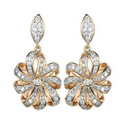 CZ earrings from China (mainland)